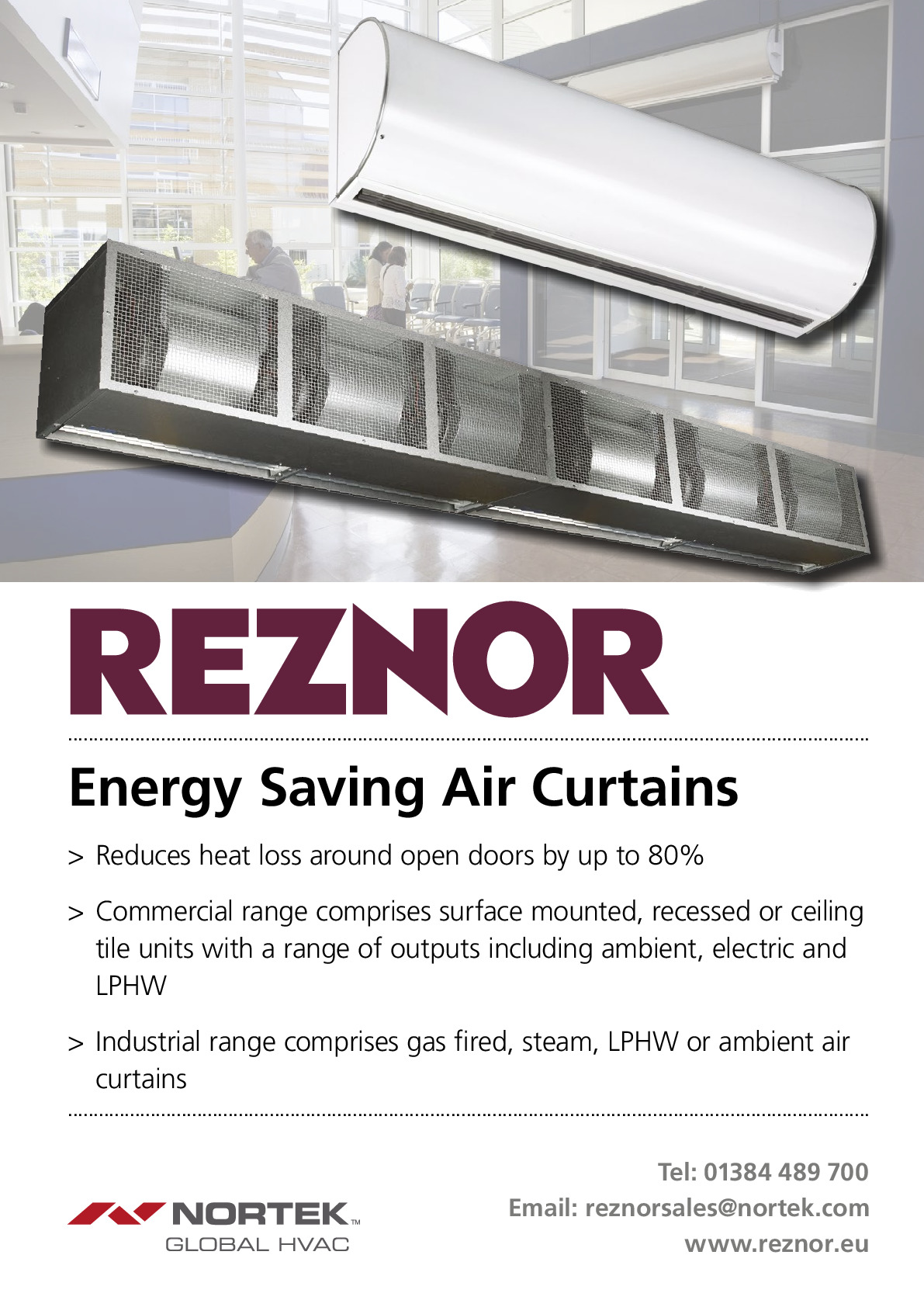 Reznor (a Division Of Nortek Global Hvac) advertisement 1 thumbnail