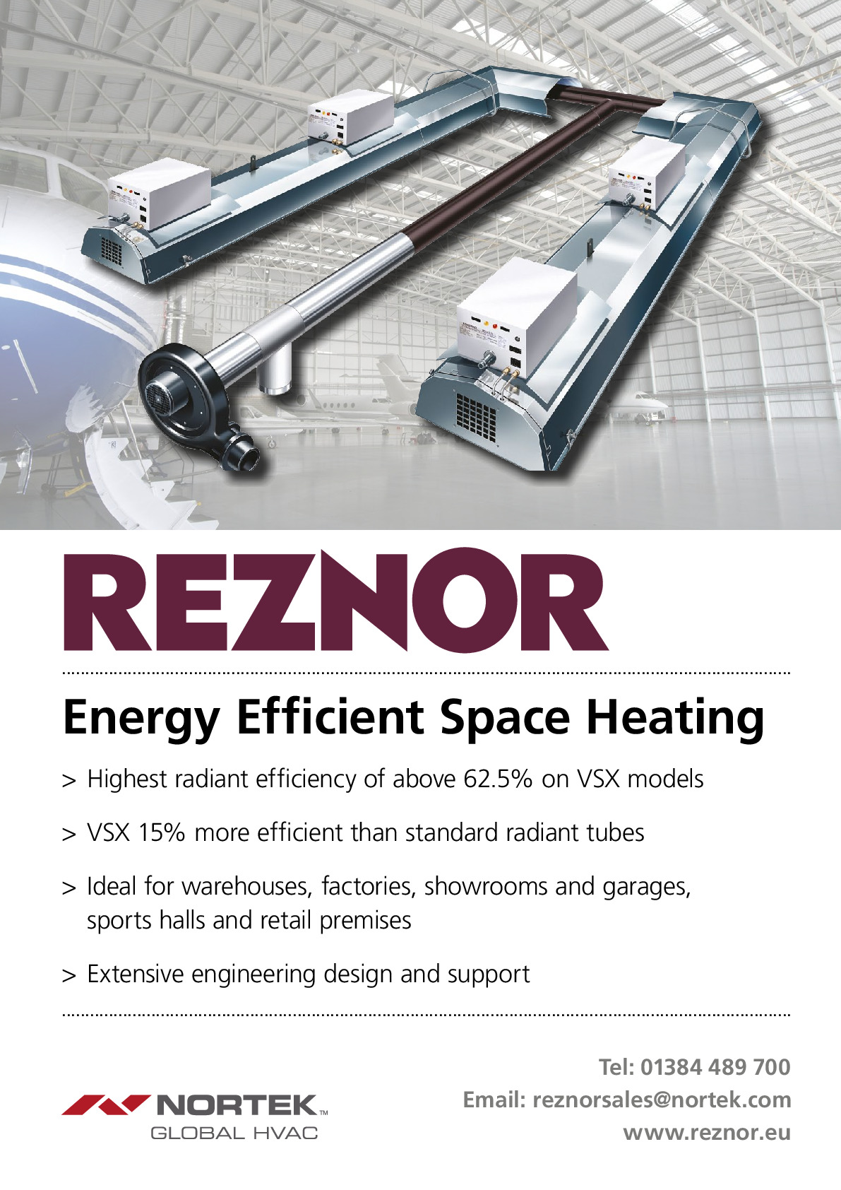 Reznor (a Division Of Nortek Global Hvac) advertisement 2 thumbnail