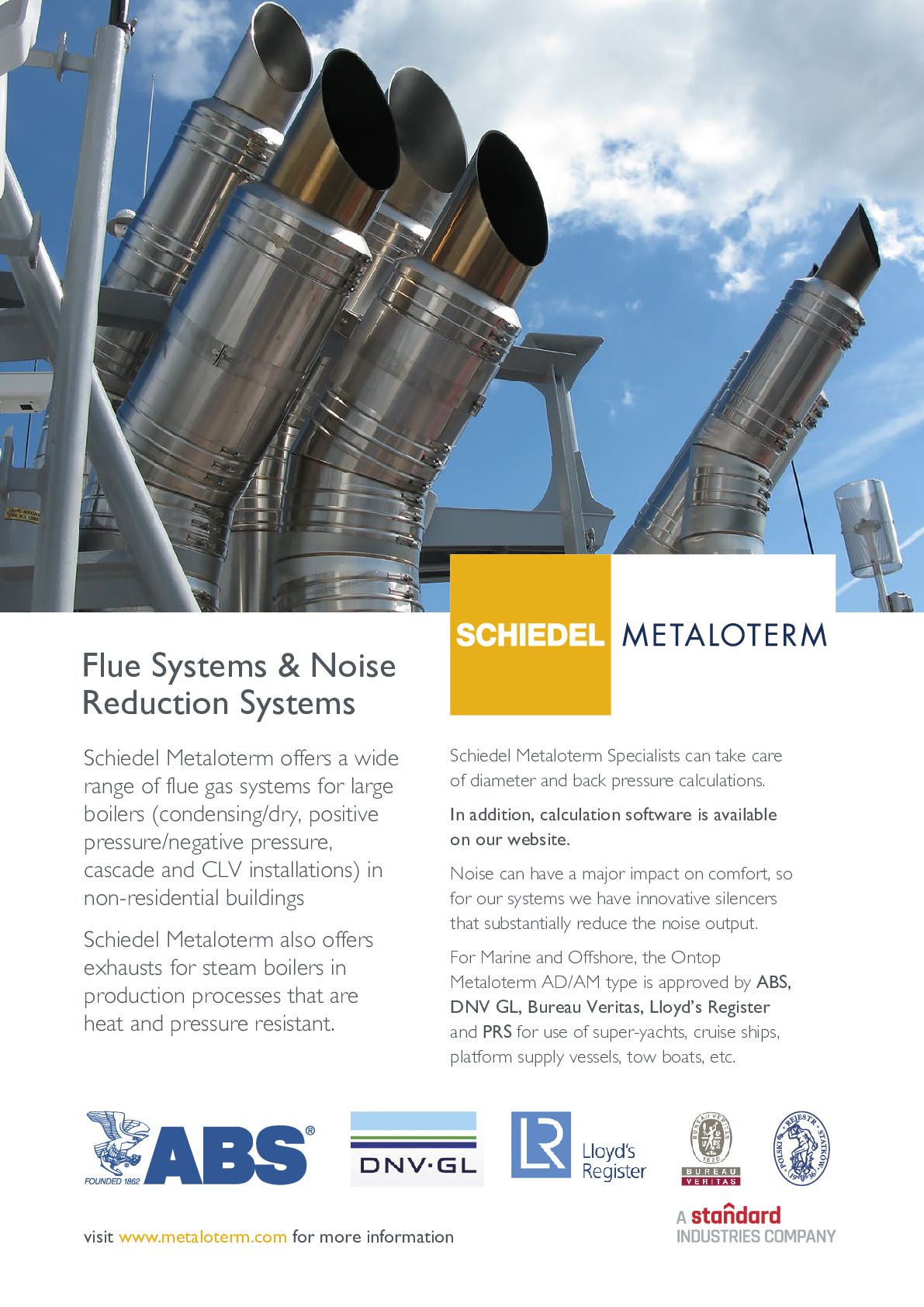 Schiedel Chimney Systems Ltd advertisement thumbnail