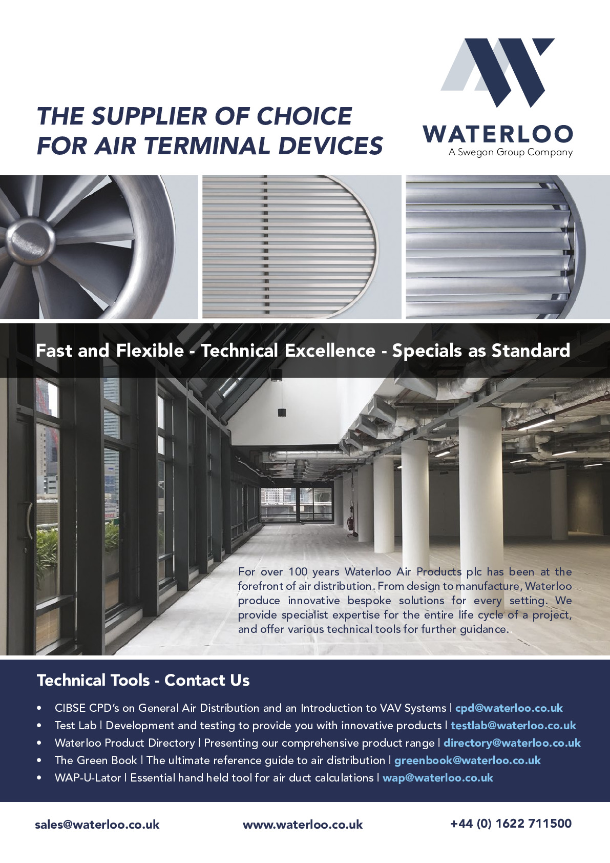 Waterloo Air Products Plc advertisement thumbnail